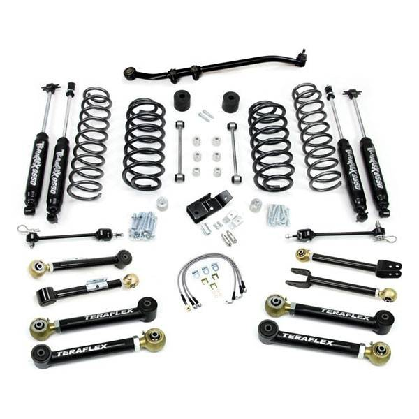 teraflex 4 u0026quot  flexarm suspension for jeep tj