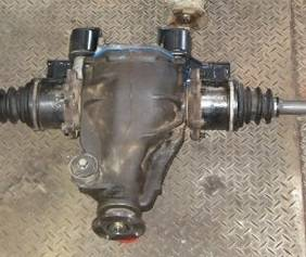Drivetrain and Differential - Toyota Tacoma IFS Front