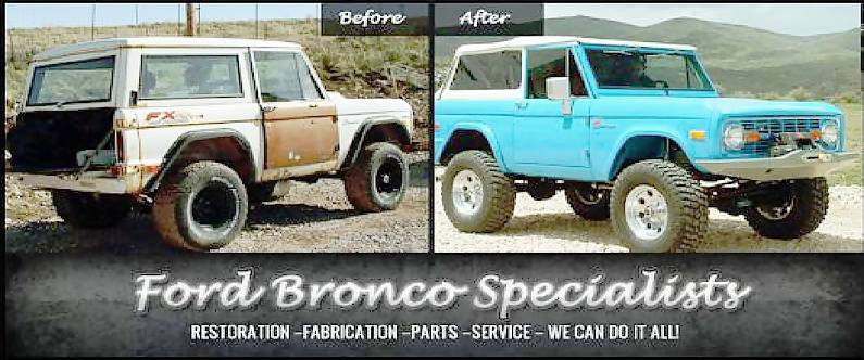 Photo Gallery - SOR Slideshow - Ford Bronco Specialists
