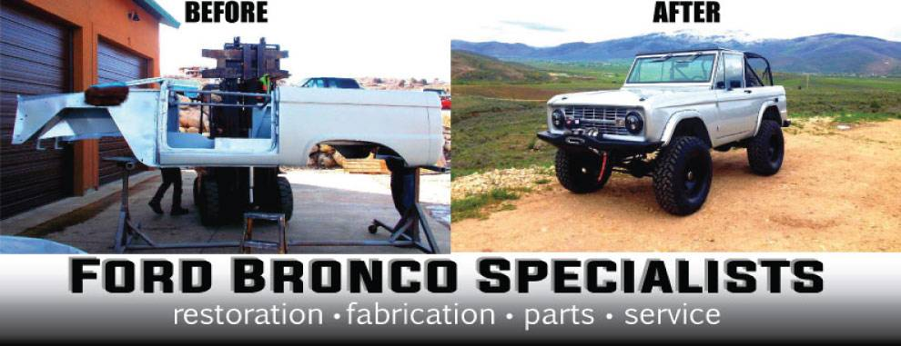 Ford Bronco Specilaists