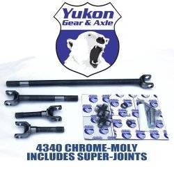 Yukon Gear & Axle - YUKON DANA 44 4340 AXLE KIT 66-77 BRONCO