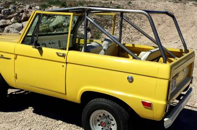 Sexton Off-Road - 66-77 BRONCO MOAB EDITION ROLL CAGE