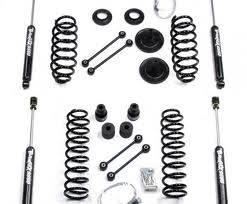 "Teraflex Suspension - Teraflex JK 2d4 4"" Lift Kit w/ 9550 Shocks - Image 1"