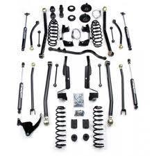 "Lift Kits and Suspension - Teraflex Suspension - Teraflex JK 2dr 4"" LA System w/ SpeedBumps - No Shocks"
