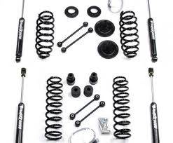 "07-16 JK Wrangler - Wrangler JK Unlimited 4 Door Suspension - Teraflex Suspension - Teraflex JK 4dr 4"" Lift Kit w/ 9550 Shocks"