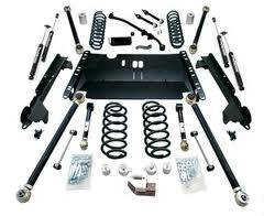 "Lift Kits and Suspension - Teraflex Suspension - Teraflex JK 4dr 6"" LA System w/ SpeedBumps - No Shocks"