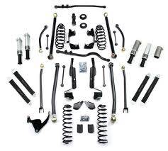 Lift Kits and Suspension - Teraflex Suspension - Teraflex JK 4dr PreRunner LA System - No Shocks