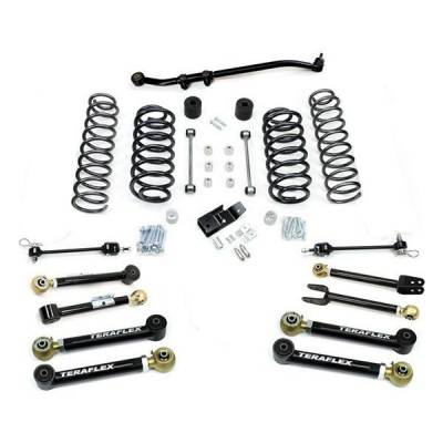 97-06 Wrangler TJ - Wrangler TJ Suspension - Teraflex Suspension - Teraflex 3 Inch FlexArm Lift Kit Jeep Wrangler TJ