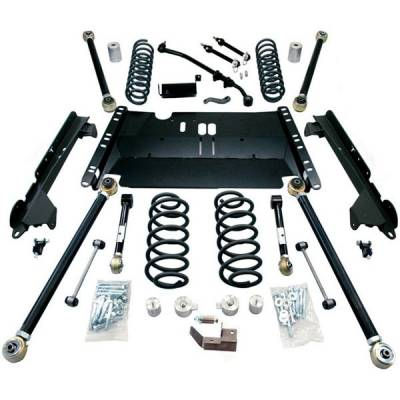 97-06 Wrangler TJ - Wrangler TJ Suspension - Teraflex Suspension - Teraflex 4 Inch Enduro LCG Lift Kit Jeep Wrangler TJ