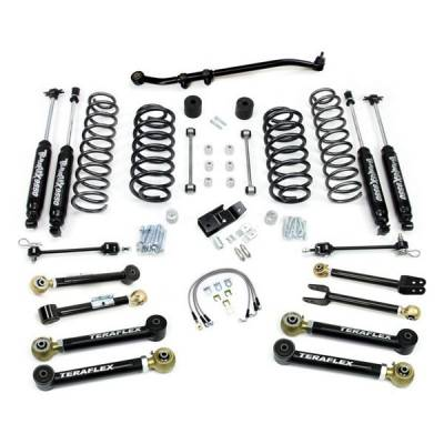 "97-06 Wrangler TJ - Wrangler TJ Suspension - Teraflex Suspension - Teraflex 4"" FlexArm Suspension for Jeep TJ"
