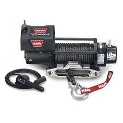 87-95 Wrangler YJ - Wrangler YJ Accessories - Warn Industires - Warn Winch VR8000 Synthetic