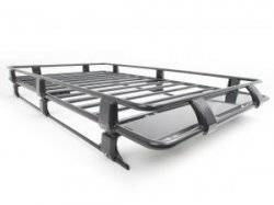 80-96 TTB Bronco - TTB Bronco Accessories - ARB - ARB STEEL WITHOUT MESH FLOOR ROOF RACK BASKET 43 X 49 INCH
