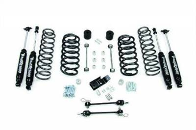 "97-06 Wrangler TJ - Wrangler TJ Suspension - Teraflex Suspension - TJ 3"" Lift Kit with 9550 Shocks"