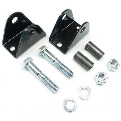 97-06 Wrangler TJ - Wrangler TJ Suspension - Teraflex Suspension - TJ/XJ/ZJ Front Lower Shock Bar Pin Eliminator Kit Skin Pack