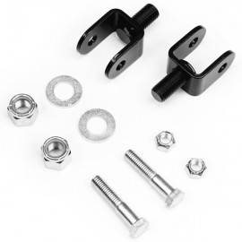97-06 Wrangler TJ - Wrangler TJ Suspension - Teraflex Suspension - TJ/XJ/ZJ Front Upper Shock Stem Eliminator Kit Skin Pack