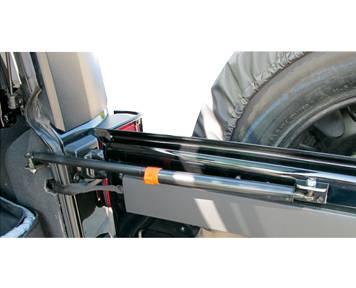07-16 JK Wrangler - Wrangler JK Exterior - Rampage Products - Rampage Lift Support - Tailgate, Jeep Jk 2/4 Door