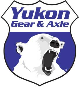 "Drivetrain and Differential - Spindle Nuts & Washers - Yukon Gear & Axle - Spindle nut for Ford 10.25"", with plastic ring."