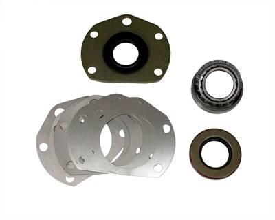 Front Axle Parts - Front Axle Bearings & Seals - Yukon Gear & Axle - Axle bearing & seal kit for AMC Model 20 rear, 1-piece axle design