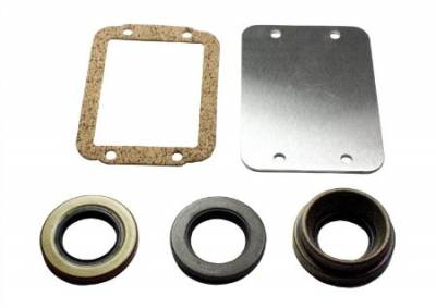 Drivetrain and Differential - Miscellaneous - Yukon Gear & Axle - Dana 30 Disconnect Block-off kit (includes seals and plate).