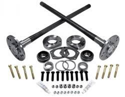 Rear Axle parts - Axle Kit - Rear - Yukon Gear & Axle - Yukon Ultimate 88 axle kit 95-02 Explorer, 4340 Chrome-Moly (Double drilled axles).