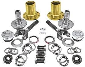 Drivetrain and Differential - Locking Hub Conversion Kits - Yukon Gear & Axle - Spin Free Locking Hub Conversion Kit for Dana 60 & AAM, 00-08 SRW Dodge