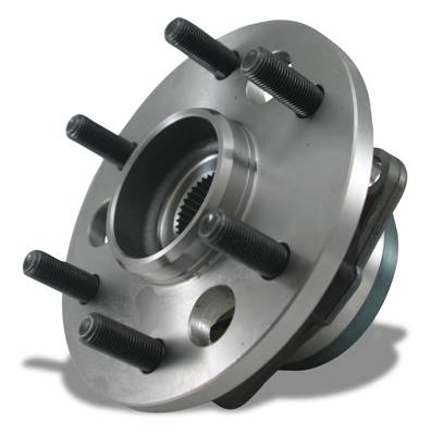 Drivetrain and Differential - Unit Bearings - Yukon Gear & Axle - Yukon unit bearing for '97-'00 Ford F150 front, w/ABS. Uses 5 mouting bolts.