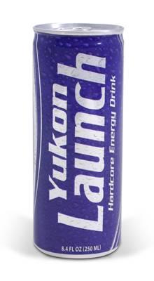 Apparel and Accessories - Apparel - Yukon Gear & Axle - Yukon LAUNCH Hardcore Energy Drink, classic flavor