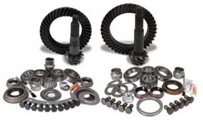Drivetrain and Differential - GEAR PACKAGES - Yukon Gear & Axle - Yukon Gear & Install Kit package for Jeep JK non-Rubicon, 4.56 ratio