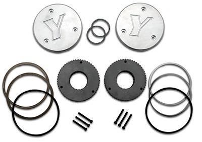 Yukon Hardcore - Yukon hardcore drive flange kit for Dana 60, 30 spline outer stubs. Non-engraved caps.