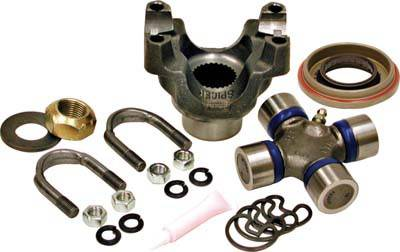 Drivetrain and Differential - Trail Repair Kit - Yukon Gear & Axle - Yukon replacement trail repair kit for Dana 30 and 44 with 1350 size U/Joint and straps
