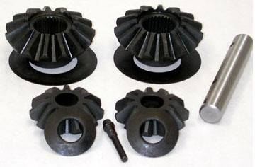 "Drivetrain and Differential - Spider Gears & Spider Gear Sets - Yukon Gear & Axle - 2007 & Up 9.25"" Chrysler standard Open 33 spline straight axle front spider set"