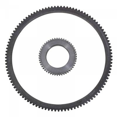 "Drivetrain and Differential - ABS Tone Rings & Sensors - Yukon Gear & Axle - MModel 35 axle ABS ring ONLY 3.5"", 54 tooth"