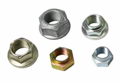 """Drivetrain and Differential - Pinion Nuts - Yukon Gear & Axle - Replacement pinion nut for Model 20 & 35, Dana 30 JK, 44 JK front, Ford 10.25"""", 10.5"""" & some 9.75"""".  7/8-20 thread, 1 1/8 socket"""