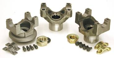 Drivetrain and Differential - Yokes - Yukon Gear & Axle - Yukon forged replacement yoke for Dana 60, stronger than billet, with a 1350 U/Joint size