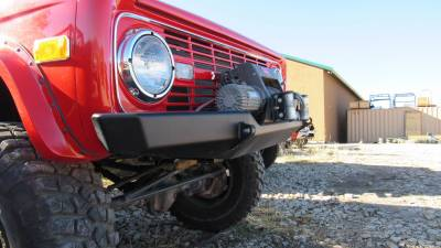 Roll Cages, Body Armor, and Bumpers - Custom 66-77 Bronco Front Bumper