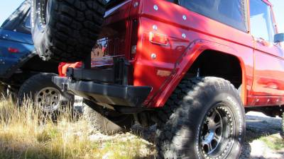Roll Cages, Body Armor, and Bumpers - Custom 66-77 Bronco Rear Bumper