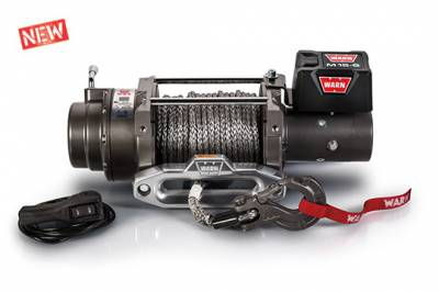 Winches and Recovery - Warn - M15-S Recovery Winch