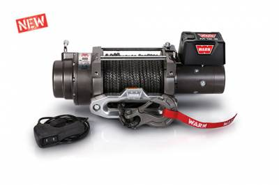 Warn - ZEON Platinum 12-S Recovery Winch with Spydura Synthetic Rope