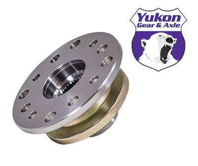 "Drivetrain and Differential - Yokes - Yukon Gear & Axle - Yukon 12 hole yoke for '83 and newer Toyota 8"" and V6 with 27 splines."
