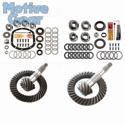Parts By Vehicle - Parts for Jeep - Motive Gear - JEEP TJ NON RUB DANA 30F/35R 4.10 COMPLETE KIT 1997 - 2006