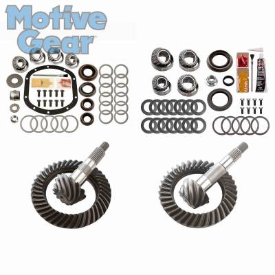Parts By Vehicle - Parts for Jeep - Motive Gear - JEEP TJ NON RUB DANA 30F/35R 4.56 COMPLETE KIT 1997 - 2006