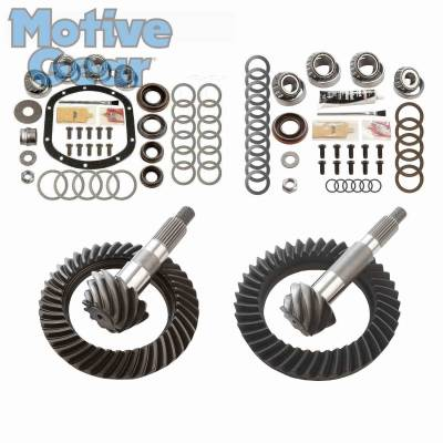 Parts By Vehicle - Parts for Jeep - Motive Gear - JEEP TJ NON RUB DANA 30F/44R 4.10 COMPLETE KIT 1997 - 2006