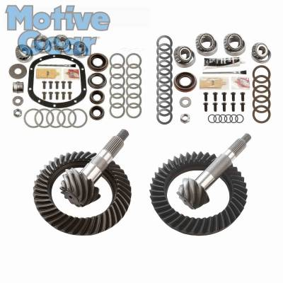 Parts By Vehicle - Parts for Jeep - Motive Gear - JEEP TJ NON RUB DANA 30F/44R 4.56 COMPLETE KIT 1997 - 2006