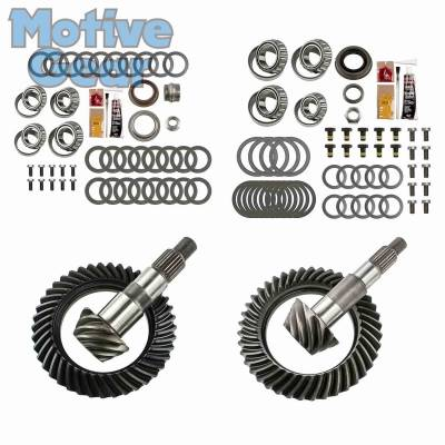 Parts By Vehicle - Parts for Jeep - Motive Gear - JEEP JK NON RUB DANA 30F/44R 4.11 COMPLETE KIT 2007 - 2016