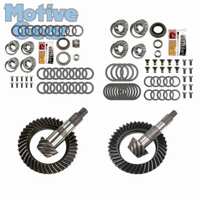 Parts By Vehicle - Parts for Jeep - Motive Gear - JEEP JK NON RUB DANA 30F/44R 4.56 COMPLETE KIT 2007 - 2016