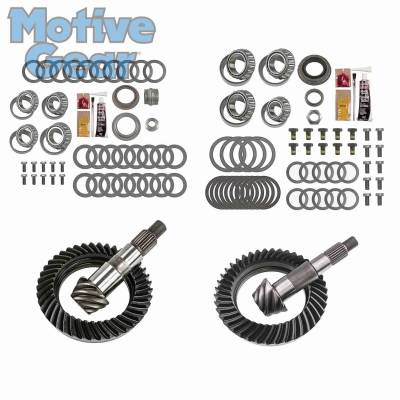 Parts By Vehicle - Parts for Jeep - Motive Gear - JEEP JK NON RUB DANA 30F/44R 5.13 COMPLETE KIT 2007 - 2016