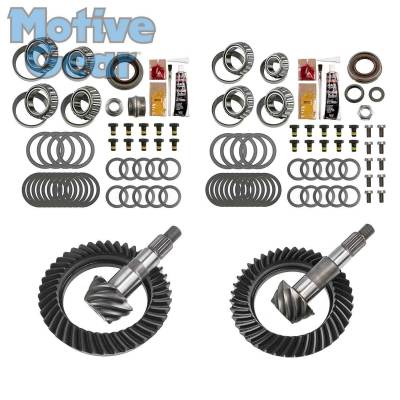 Parts By Vehicle - Parts for Jeep - Motive Gear - JEEP JK RUB DANA 44F/44R 4.56 COMPLETE KIT 2007 - 2016