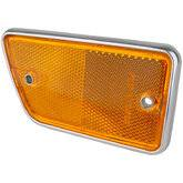 66-77 Classic Bronco - Classic Bronco Replacement Body Parts - Fender Reflector - Right Amber 1968 - 69
