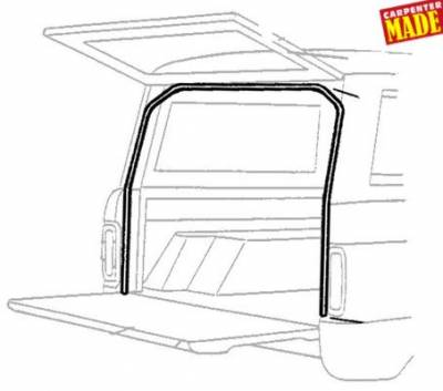 66-77 Classic Bronco - Classic Bronco Replacement Body Parts - Lift Gate,Tailgate Side Seal 1969 - 77
