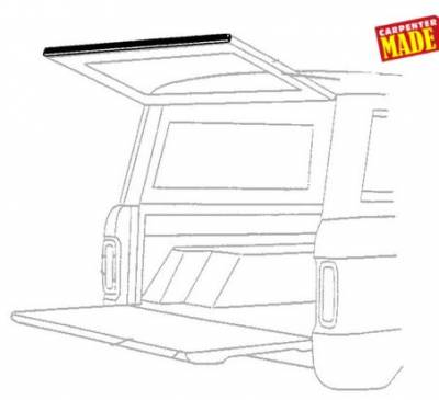 66-77 Classic Bronco - Classic Bronco Replacement Body Parts - Lift Gate Lower Seal 1966 - 68